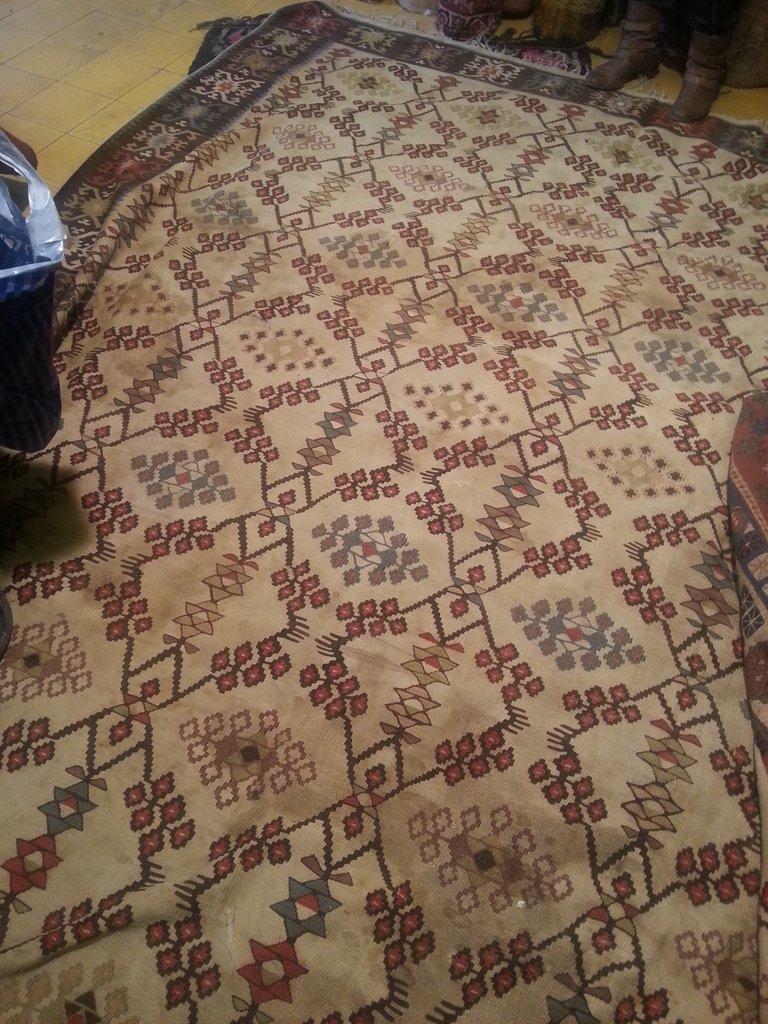 השטיח הנבחר, בקרוב תראו אותו במלוא תפארתו בבית החדש שלו