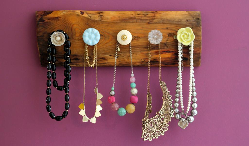 מתלה תכשיטים שהכנתי והתפרסם באתר mako LIVING