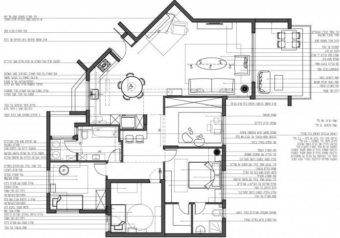תכנית הום סטיילינג, לכל פריט יש מקום ולכל חדר תכנון מלא ומפורט