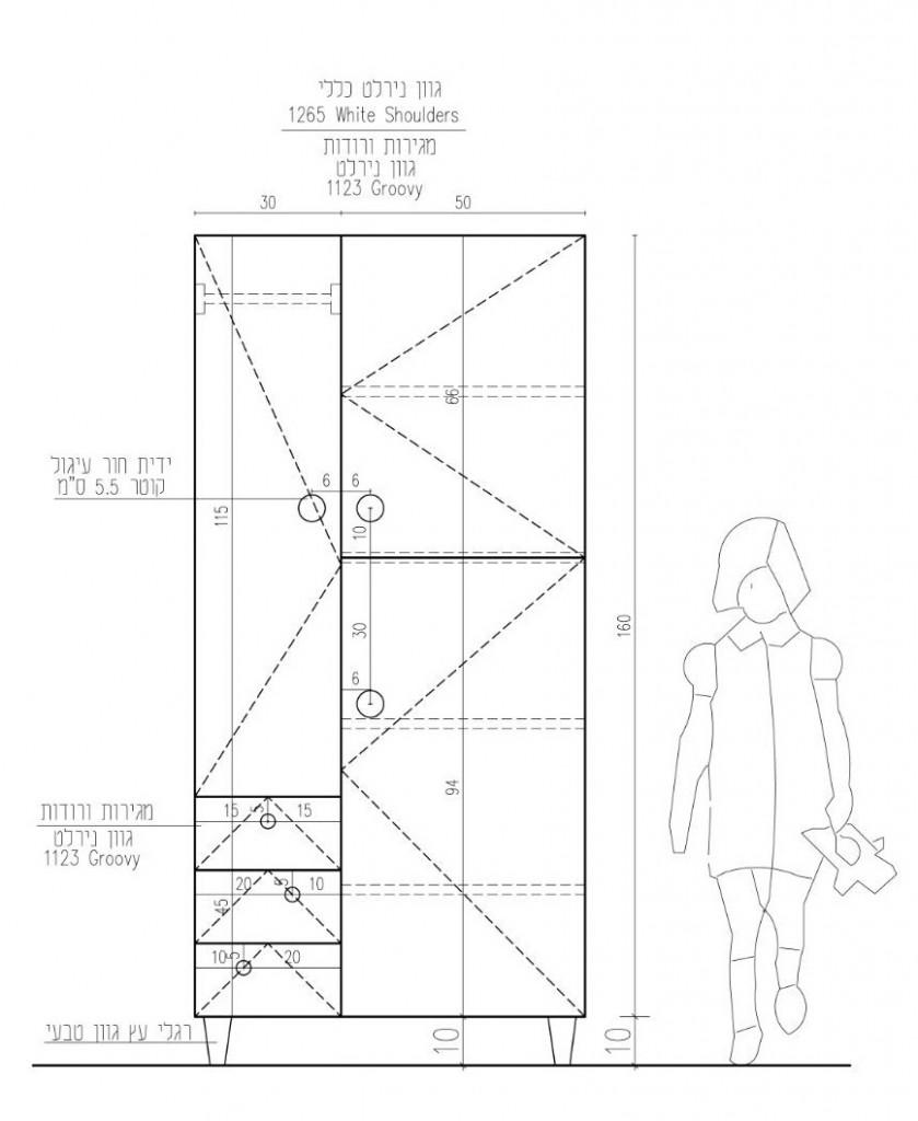 הום סטיילינג לדירת קבלן בשרון עיצוב לירון גונן (5)