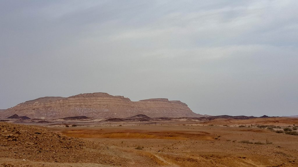 הר ארדון, מכתש רמון, המכתש הקטן, מצפה רמון, מדבר