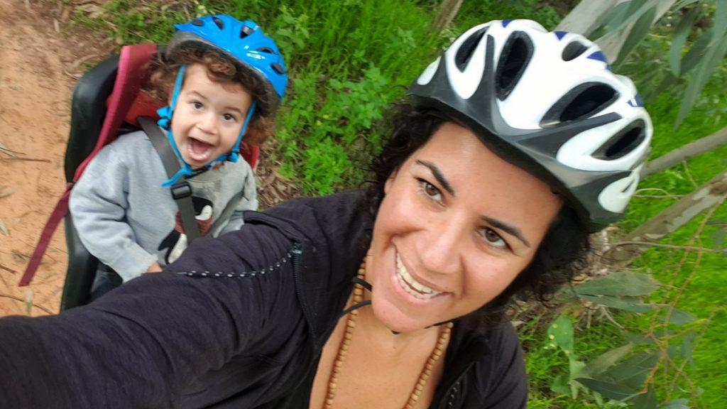 רכיבת על אופניים לגן, קיימות, האטה טבעית