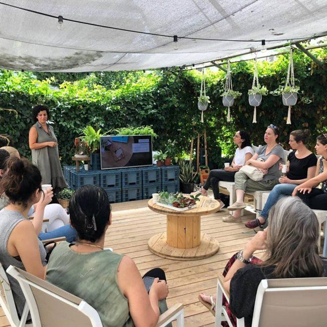 הרצאה צמחי בית מינימליזם מיס גרות לירון גונן (8)